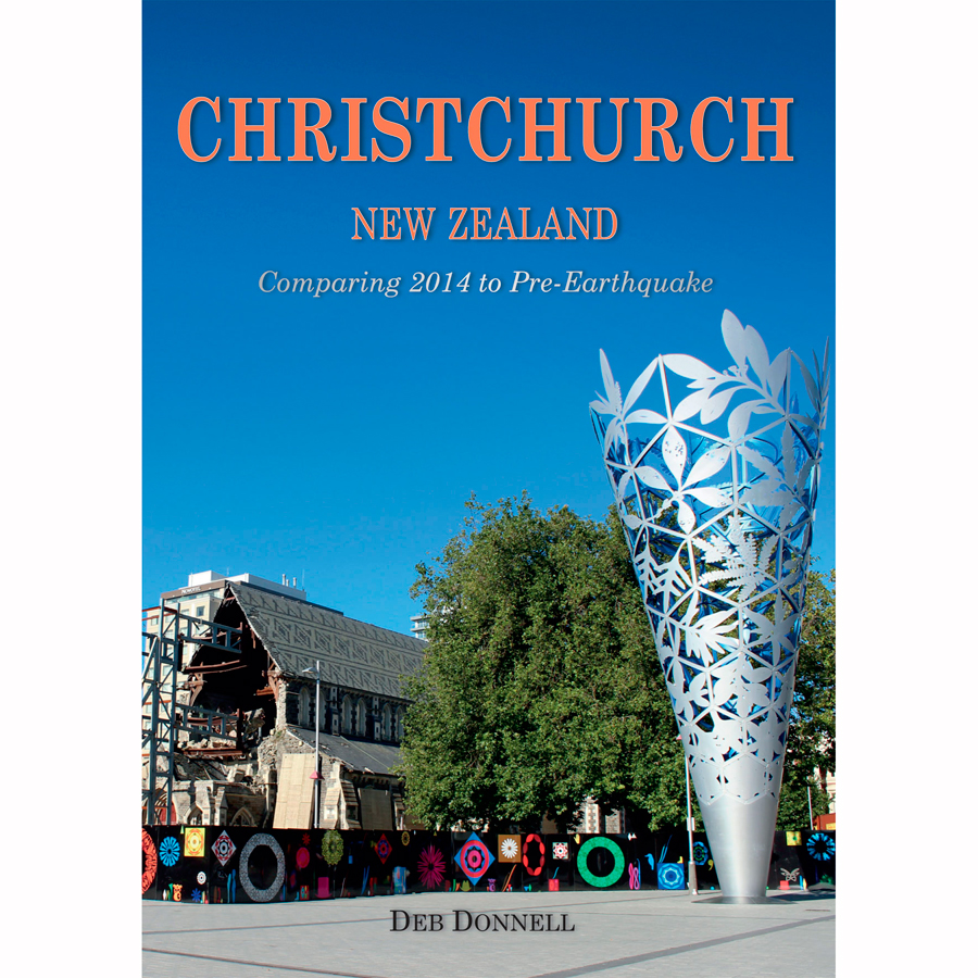 Christchurch 2014 Then and Now Book